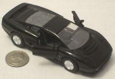"Welly Black Jaguar XJ220 4.5"" NICE (see photos)"