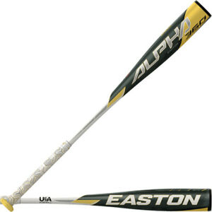 EASTON USA -13 ALPHA 360 SPEED BALANCED BASEBALL BAT 1-PIECE ALUMINUM