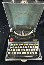 Antique 1921 Remington Portable No.1 Typewriter in Case Working