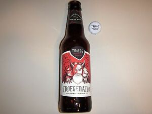 Tröegs Troegenator Double Bock - Troegs - Empty 12oz Beer Bottle Pennsylvania