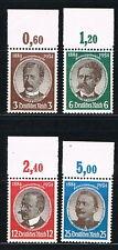 Deutsches Reich: MiNr. 540 - 543 OR ** postfrisch, Oberrand vorgef. 1934 [10438