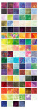 "Benartex Fossil Fern Charm Pack 100 5"" Quilt Fabric Squares"