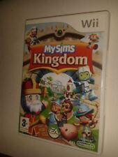 * NINTENDO Wii Game * MY SIMS KINGDOM *