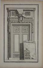 """Burin, par J-C. DELAFOSSE, """"Décor d'architecture"""", XVIIIème"""