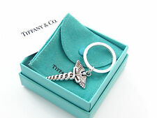 Tiffany & Co RARE Silver Caduceus Medical Symbol Key Ring Key Chain Keychain!