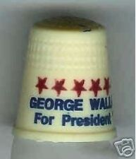 GEORGE WALLACE 1976 thimble PRESIDENT THIRD party
