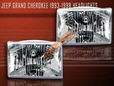 1993-1998 JEEP GRAND CHEROKEE HEADLIGHTS 1994 1995 1996