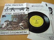 """JOHN MERRICK 7"""" Emo Fuzz Psych Dischord Fugazi Hated Jawbox Lungfish Moss Icon"""