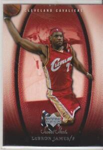 2005/06  upper deck  sweet shot  lebron james      # 16