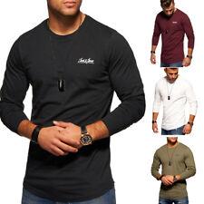 JACK & JONES Longsleeve T-Shirt Oversize Langarmshirt Longline Poloshirt NEU