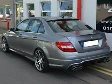 Mercedes W204 C Class Boot Trunk Lid Spoiler Mansory Saloon Sedan