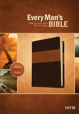 Every Man's Bible NIV by Dean Merrill (2014, Imitation Leather)