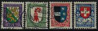 Svizzera - 1926 - Pro Juventute - serie completa usata - Unificato n.222/225