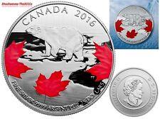 2016 Silver $25 TRUE NORTH Coin - SALE 15% OFF