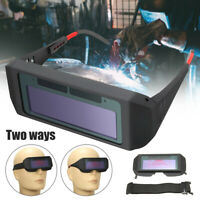 Automatic Solar Darkening LCD Welding Glasses Mask Goggles Helmet Lens Filter