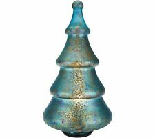 Illuminated Sponge Effect Mercury Glass Tree by Valerie -x9007s