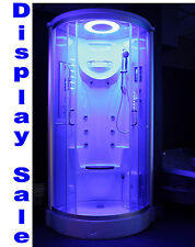 Steam Shower Enclosur w/Hydro Massage,ozone,Bluetooth, Warranty.Display SALE