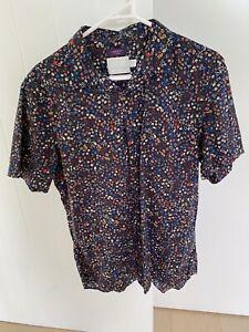 TOPMAN Premium - Short Sleeve Collared Shirt - M - As New