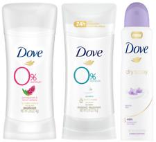 Dove Women Antiperspirant Deodorant Dry Spray - 0% Aluminum CHOOSE