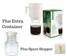 The Toddy Cold Brew System Espresso Style Coffee  + Container & Stopper Bundle