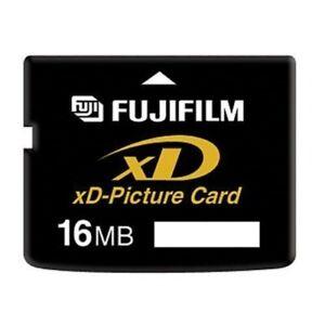 scheda di memoria FUJIFILM OLYMPUS 16MB xD