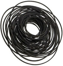 More details for 30 mixed size & width rubber drive belts for cassette tape deck cd dvd player