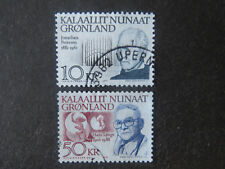 Greenland 1991 Birth Anniversaries High Values - Used - High CV