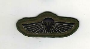 SPECIAL BOAT SERVICE PARACHUTE WINGS/ROYAL NAVY/SPECIAL FORCES - SUBDUED