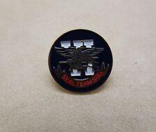 Blue Enameled Seal Team Six Military Lapel Pin Eagle W/ Trident