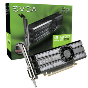 Evga 02G-P4-6333-Kr Nvidia Geforce Gt 1030 Sc 2Gb Gddr5 Dvi/Hdmi Low Profile