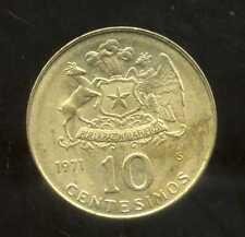 CHILI  10  centesimos 1971