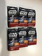 STAR WARS Destiny Spirit of Rebellion booster packs x6. 1/6 of a booster box New