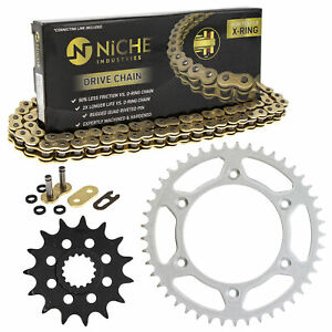 Sprocket Chain Set for KTM 450 400 EXC 525 MXC 15/45 Tooth 520 X-Ring Front Rear