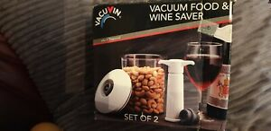 VACUVIN WINE AND FOOD SAVER