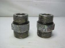 """9351 Lot (2) 1"""" ORFS x 1"""" ORB Pipe Adapter Fitting FREE Ship Conti USA"""