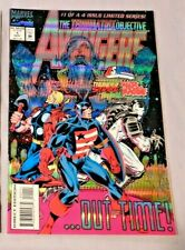 THE TERMINATRIX OBJECTIVE AVENGERS #1 Marvel Comics 1993