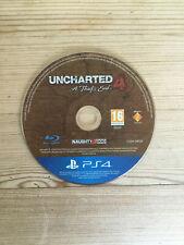 Uncharted 4 el extremo thiefs para PS4 * disco solamente *