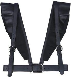Women's Punk Leather Body Harness Belt Harajuku Suspenders Adjustable Belts