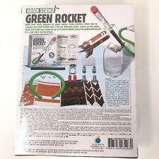 Green Rocket - Green Science Education Kit - Kids Lab Fun Project - New Sealed