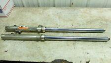 85 Kawasaki KL KLR 600 B KL600 KLR600 front forks fork tubes shocks right left