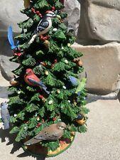 Danbury Mint Birdwatchers Christmas Tree