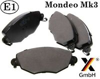 Ford Mondeo mk3 00-07 Jaguar X-type Front Brake Pad Set (4 pads) NEW adb01110