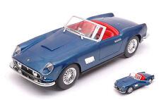 Ferrari 250 Gt California 1958 Metallic Blue 1:24 Model 26020B BBURAGO