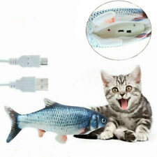 1Pc Pet Cat Interactive Motion Play Electronic Toy Funny Dancing Fish Sensing Us