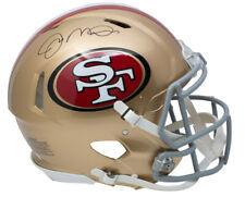 Joe Montana Signed San Fransisco 49ers Full Size Speed Authentic Helmet JSA