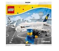 LEGO 40146 Lufthansa Airbus A380 + Figur *seltenes Sammlerstück* im Polybeutel
