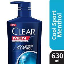 630ml Clear Men Shampoo Anti-Dandruff Cool Sport Menthol , DHL 3-5 days shipping