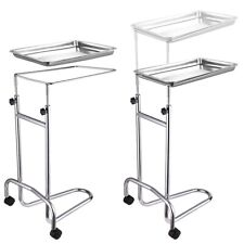 Mayo Instrument Stand Stainless Steel Medical Doctor Tattoo Spa Salon  New