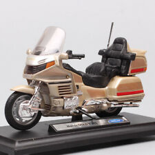 1/18 scale Welly Honda Gold Wing touring motorcycle moto Diecast Vehicle models