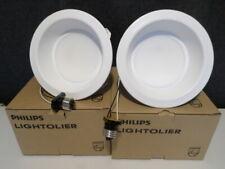 "Qty 2 Philips 6"" Lightolier CorePro Downlight Retrofit CP630K6 120V 8W Dimmable"